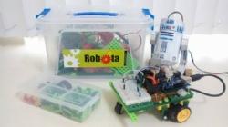 Programando Robô R2D2, no espaço Robota!!!